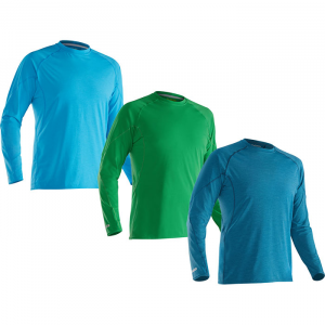 photo: NRS H2Core Silkweight Long-Sleeve Shirt long sleeve paddling shirt