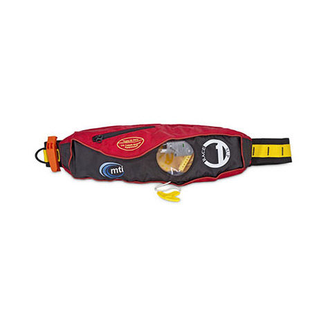 photo: MTI Race 1 Belt Pack life jacket/pfd