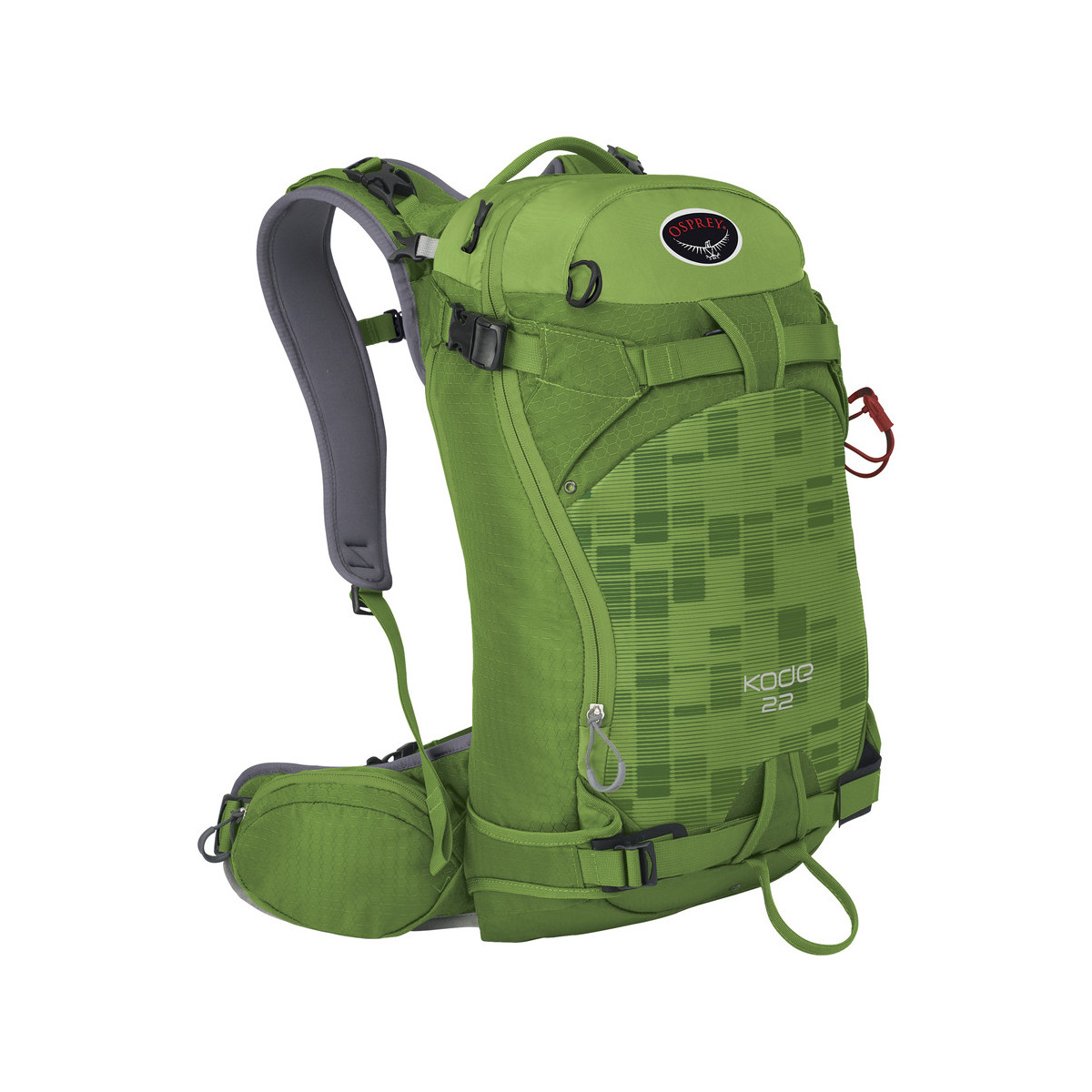 photo: Osprey Kode 22 winter pack