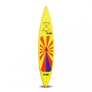 photo of a Glide inflatable paddle board