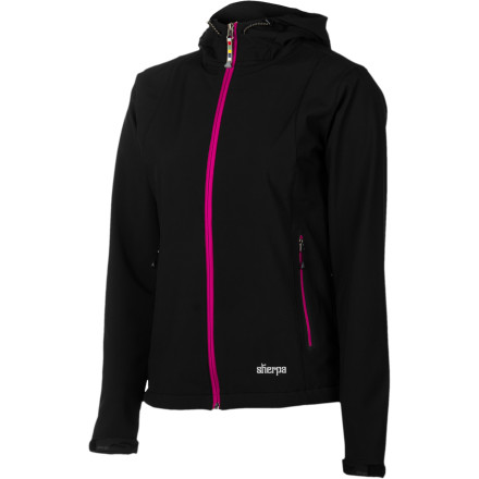 photo: Sherpa Adventure Gear Nisha Jacket soft shell jacket