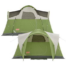 photo: Coleman Montana 4 tent/shelter