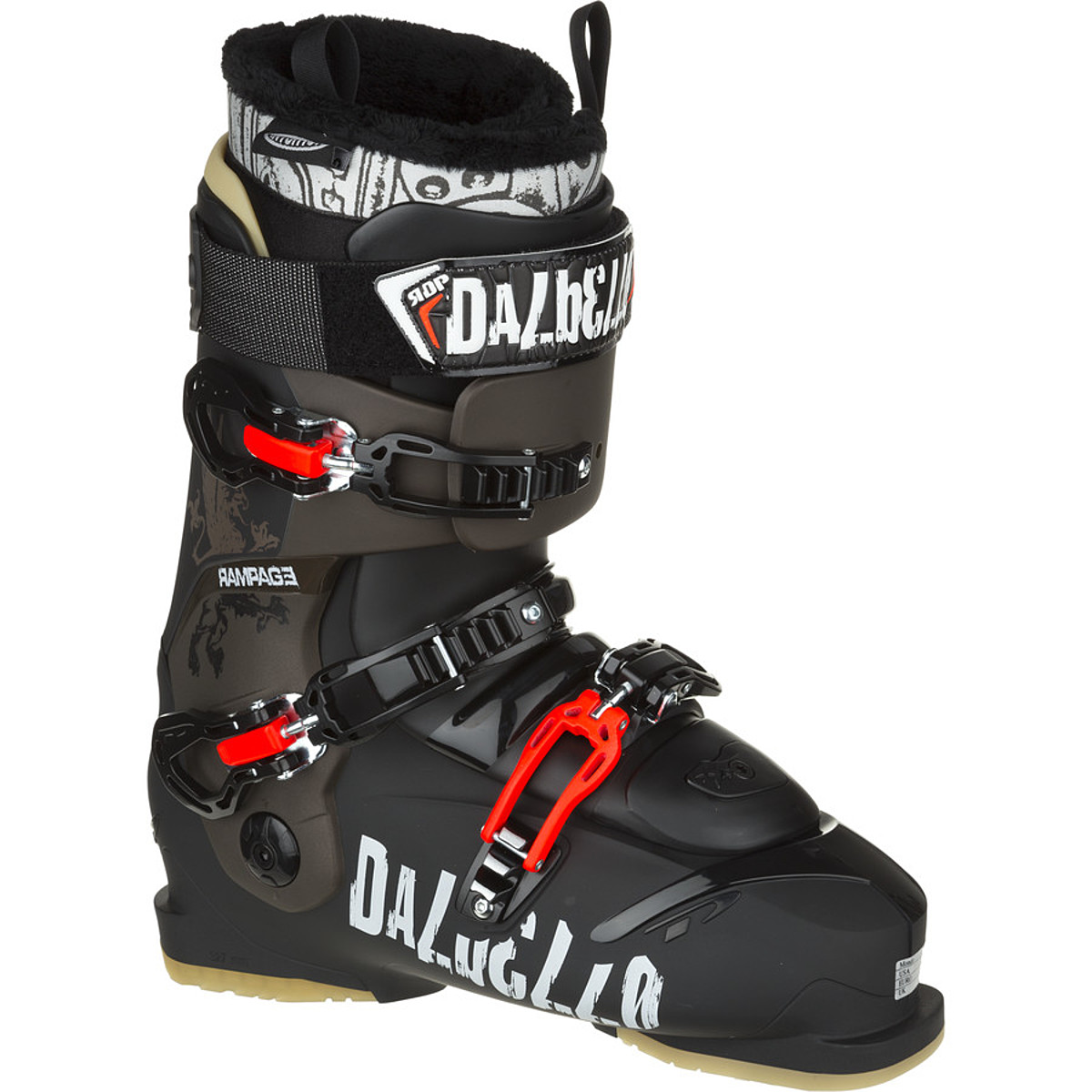 photo: Dalbello Rampage I.D. Ski Boot alpine touring boot