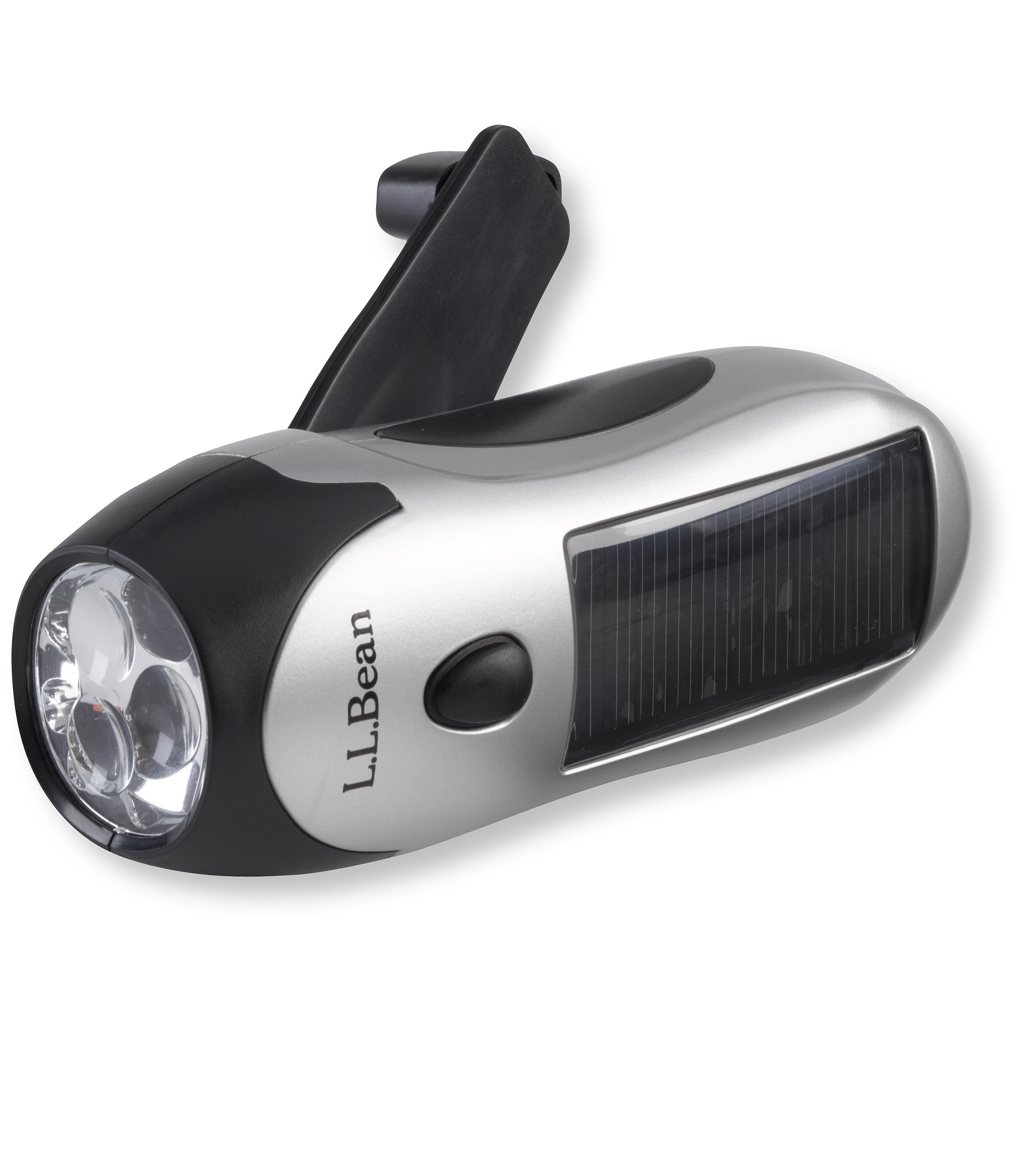 L.L.Bean Solar Wind 'N Go Flashlight