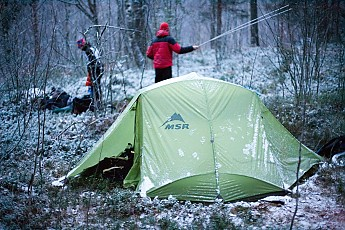 We purchased this tent in late 2012 as a replacement for our Salewa Finch II which weighs the same 2.5 kg (5.5 lbs). The very first impression we got from ... & MSR Hoop Reviews - Trailspace.com