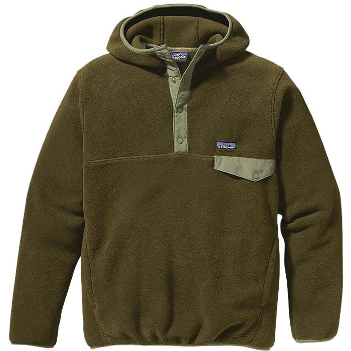 photo: Patagonia Snap-T Hoody fleece top