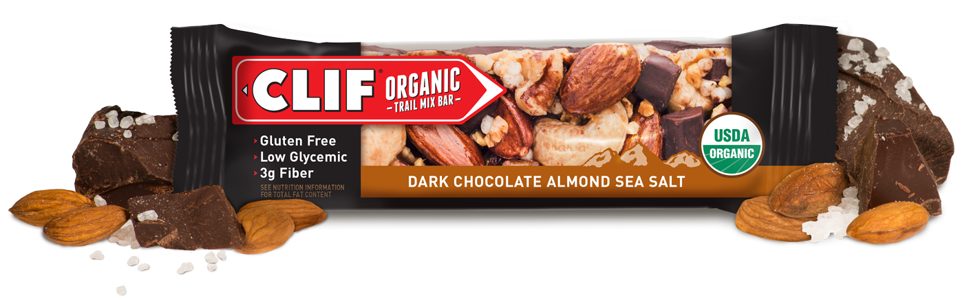 Clif Dark Chocolate Almond Sea Salt Organic Trail Mix Bar