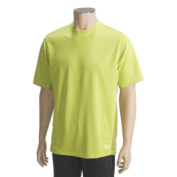 White Sierra Rim Trail Crew Shirt