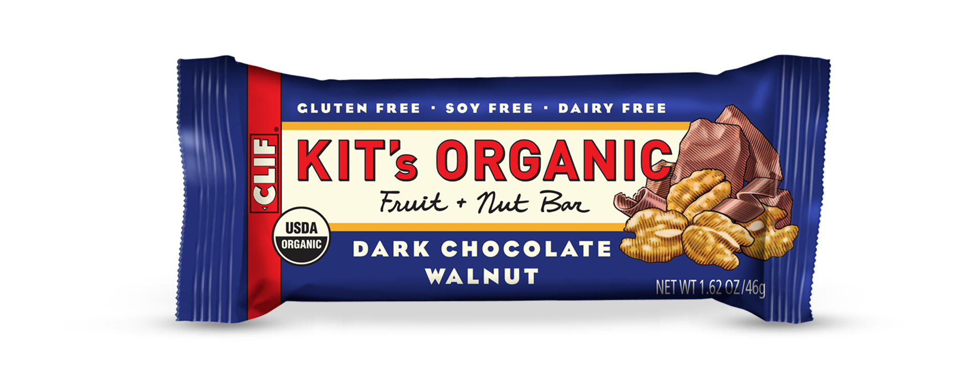 Clif Kit's Organic Dark Chocolate Walnut Bar