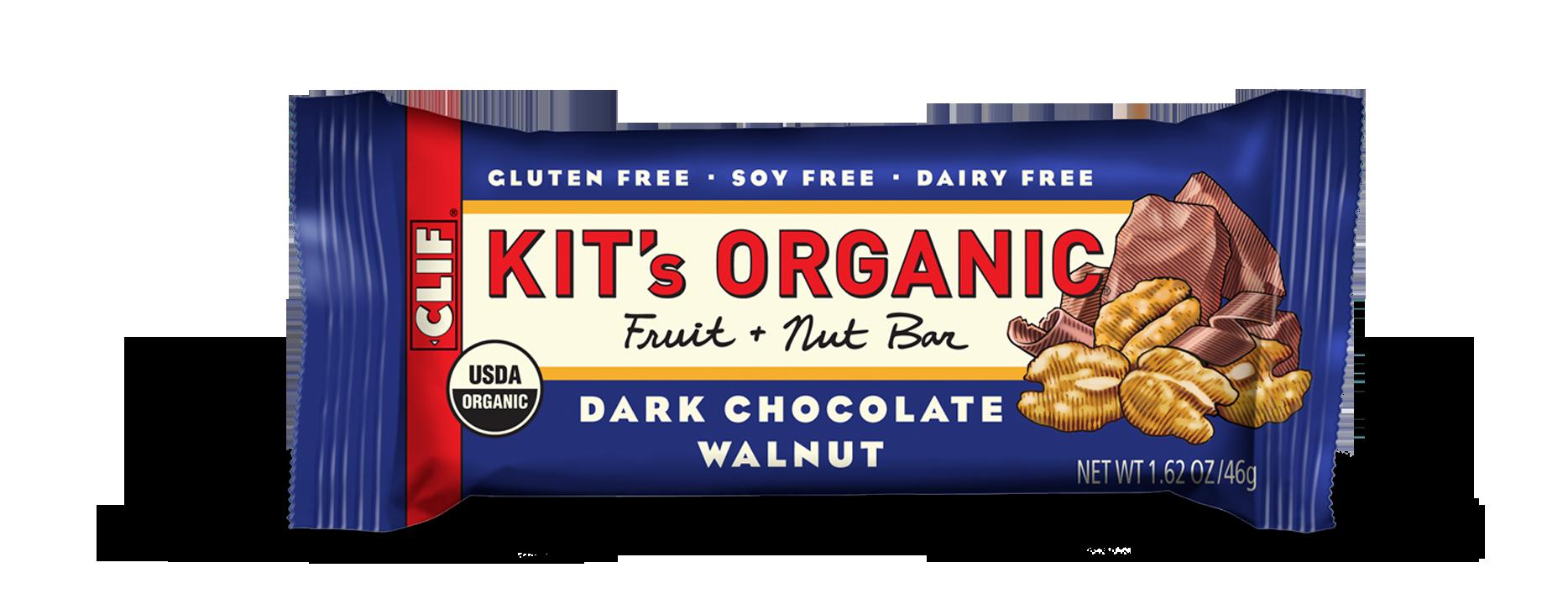 Clif Kit's Organic Dark Chocolate Walnut Bar