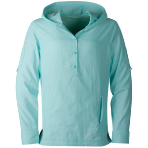 photo: Cloudveil Cool Caribe Hooded Pullover hiking shirt