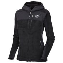 photo: Mountain Hardwear Monkey Women Grid Jacket fleece jacket
