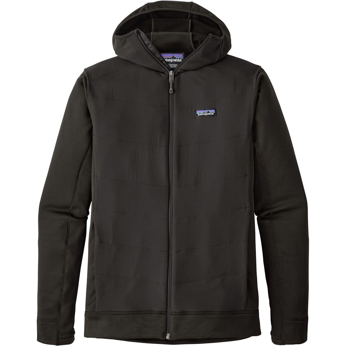 photo: Patagonia Men's Crosstrek Hybrid Hoody fleece jacket