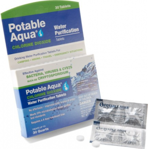 photo: Potable Aqua Chlorine Dioxide Water Purification Tablets chemical water treatment