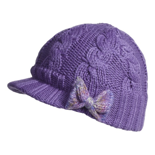 photo: Columbia Kids' Twilight Ride Visor Beanie winter hat