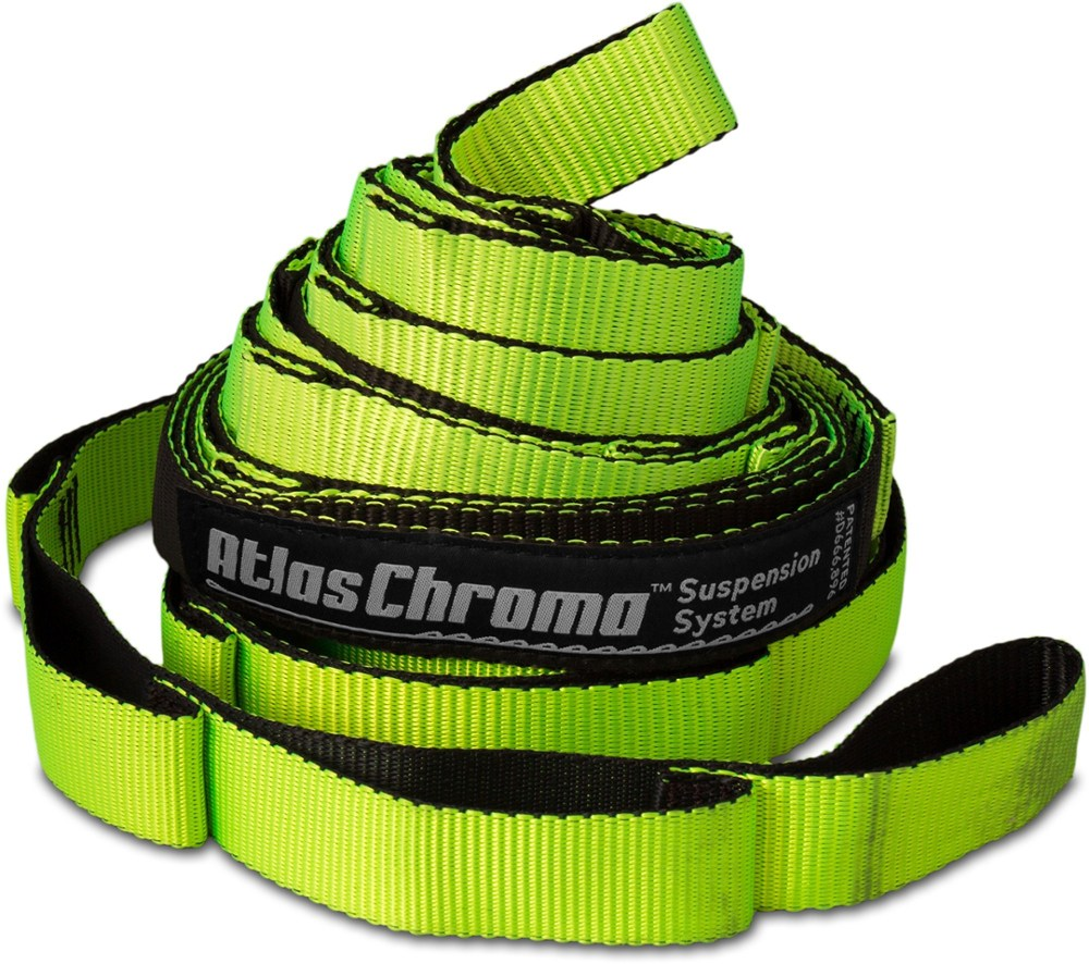 photo: Eagles Nest Outfitters Atlas Chroma Straps hammock accessory