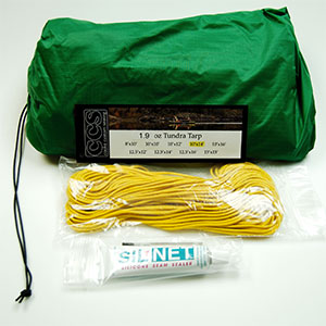 photo: Cooke Custom Sewing 1.9oz Silicone Tundra Tarp tarp/shelter