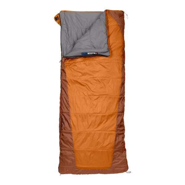 photo: The North Face Dolomite 20/-7 3-season synthetic sleeping bag