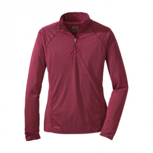 photo: Outdoor Research Essence Zip Tee long sleeve performance top