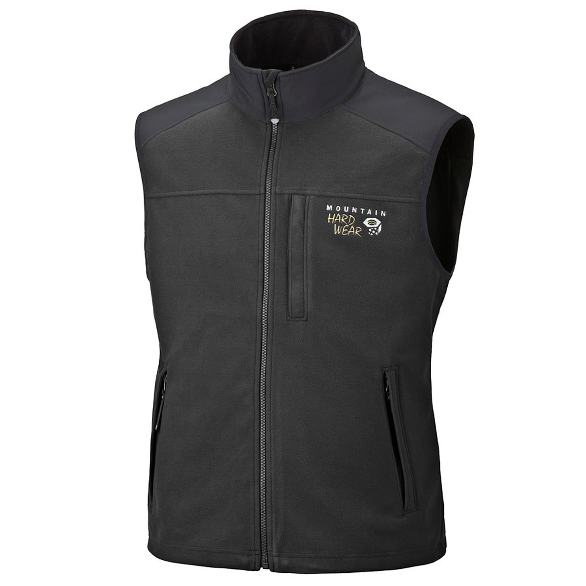 photo: Mountain Hardwear Windstopper Tech Vest fleece vest