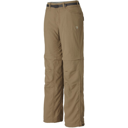 photo: Mountain Hardwear Corsica Convertible Pant hiking pant