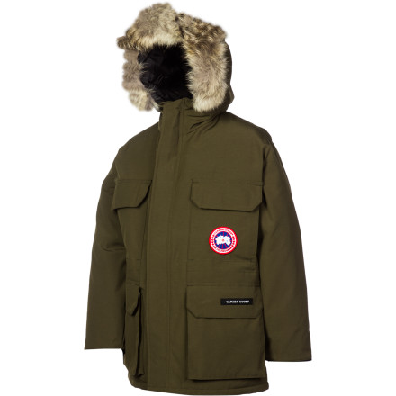 photo: Canada Goose Boys' Expedition Parka down insulated jacket