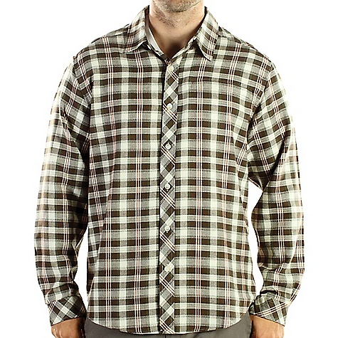 photo: ExOfficio Men's Pocatello Plaid Macro Long-Sleeve Shirt hiking shirt