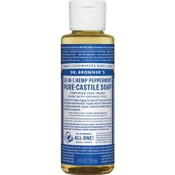 photo of a Dr. Bronner soap/cleanser