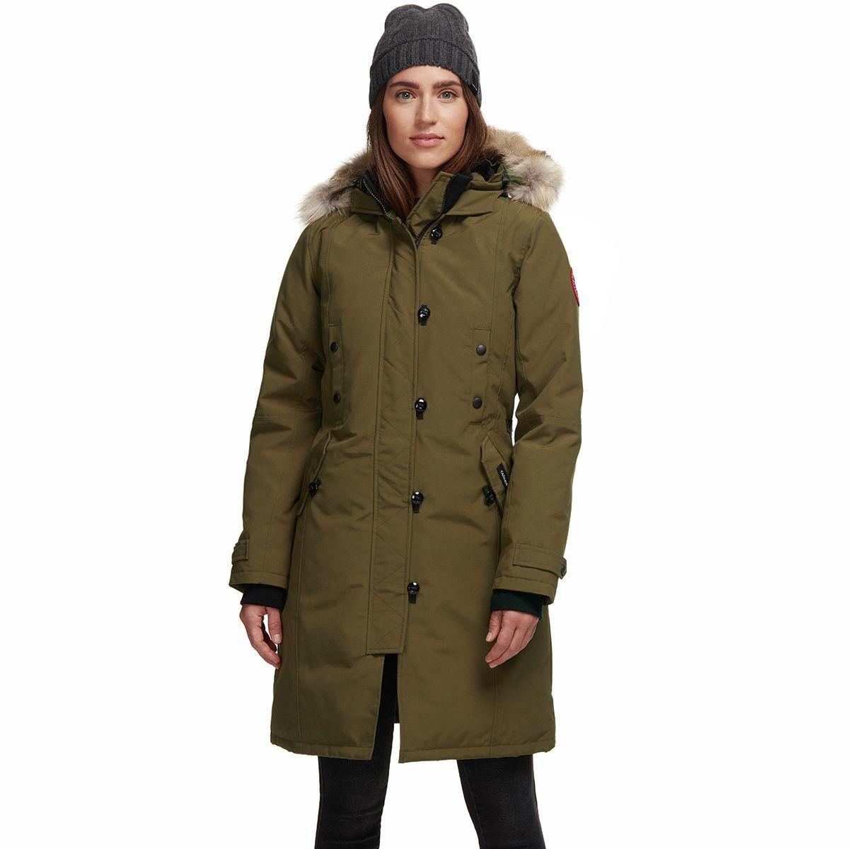 photo: Canada Goose Kensington Parka down insulated jacket