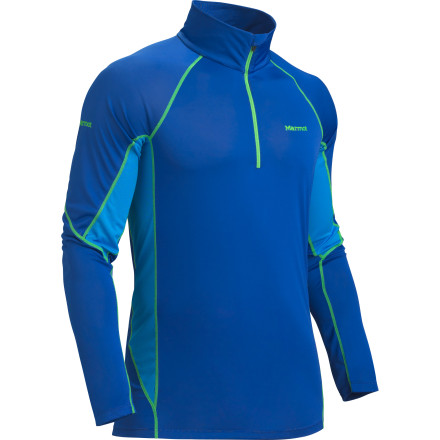 photo: Marmot Lightweight Zip Neck base layer top