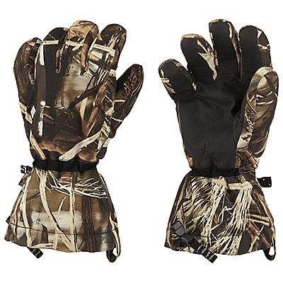 photo: Columbia Gathering Storm Camo Glove insulated glove/mitten
