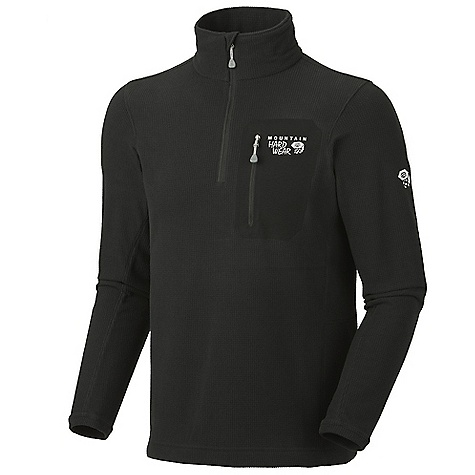 photo: Mountain Hardwear Micro Grid Zip T fleece jacket