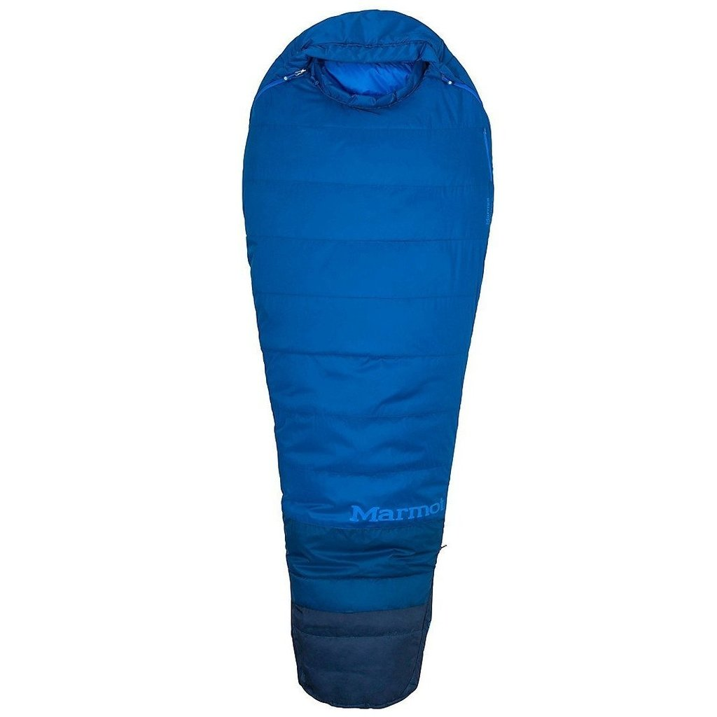photo: Marmot Men's Trestles TL 15 3-season synthetic sleeping bag