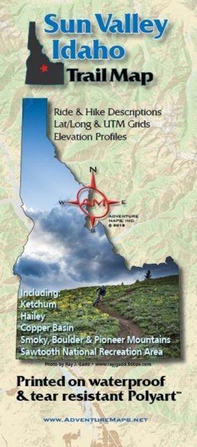 Adventure Maps Sun Valley Trail Map