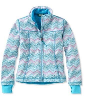 photo: L.L.Bean Wonderfleece Soft-Shell Jacket, Print soft shell jacket