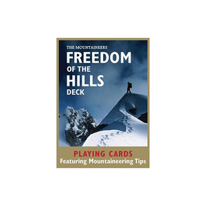 The Mountaineers Books Freedom of the Hills Playing Cards Deck