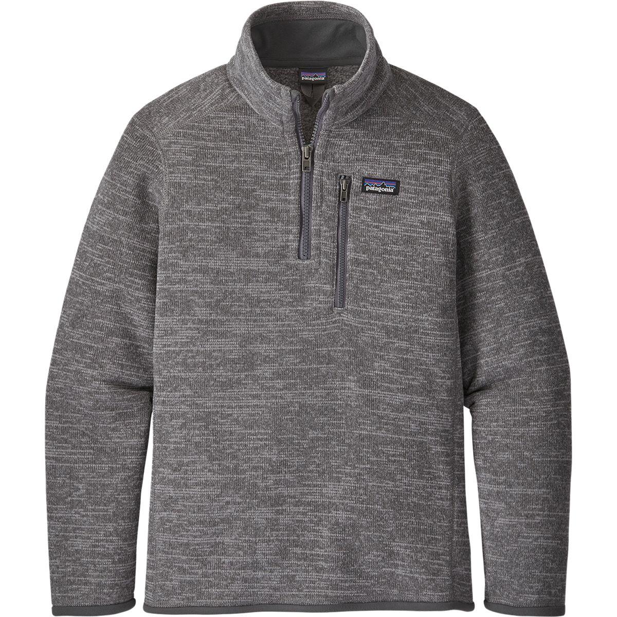 photo: Patagonia Boys' Better Sweater 1/4-Zip fleece top