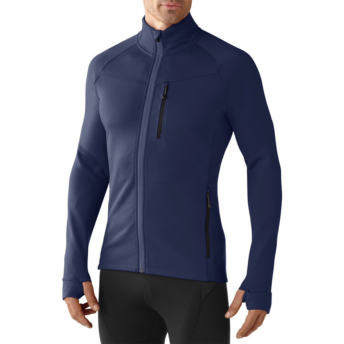 photo: Smartwool PhD HyFi Full Zip long sleeve performance top