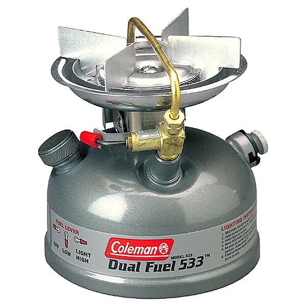 photo: Coleman Sportster Dual Fuel II liquid fuel stove
