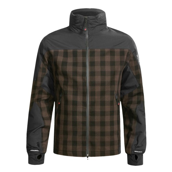 photo: Woolrich Buffalo Plaid Jacket waterproof jacket