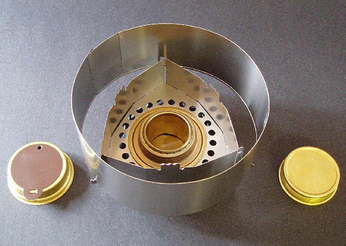 photo: Clikstand Sierra Combo alcohol stove
