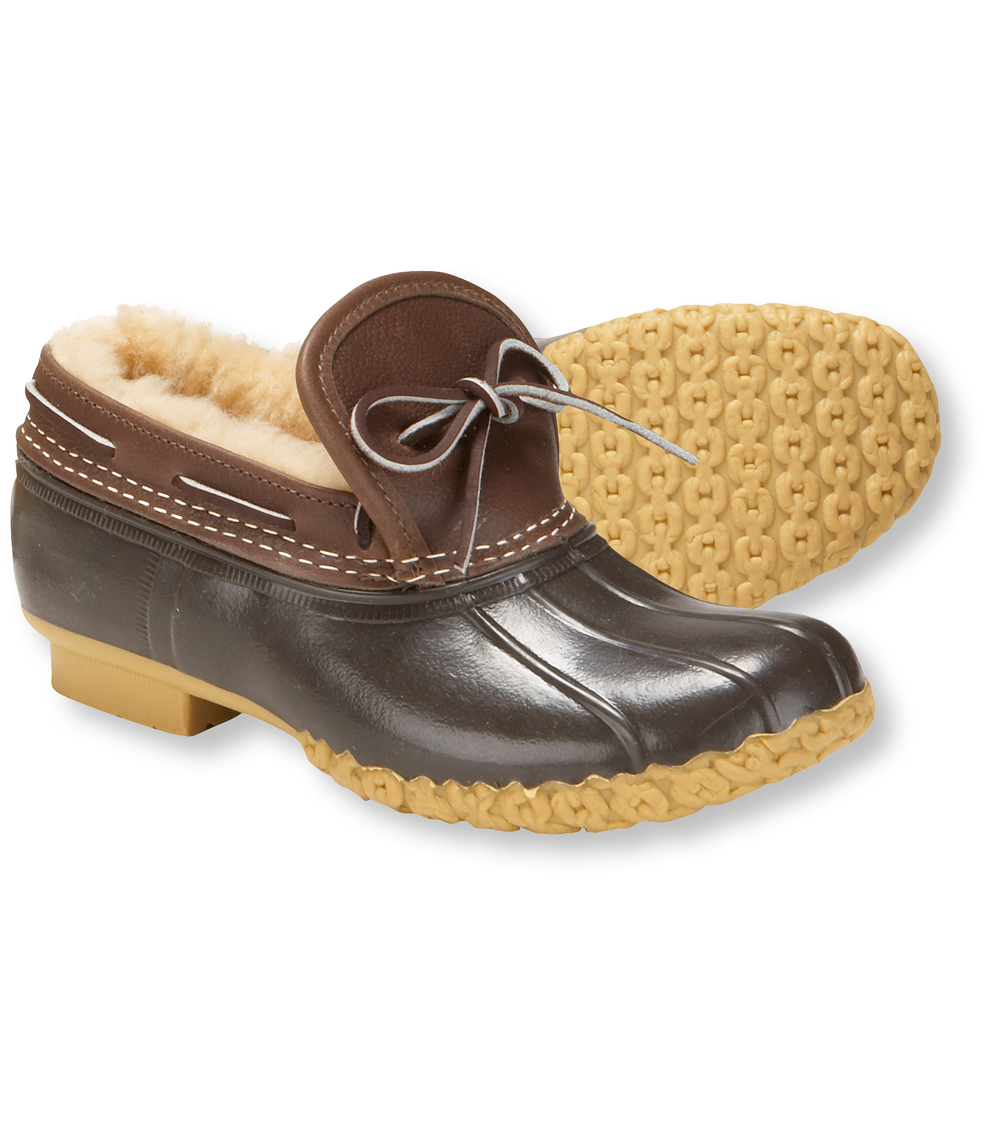 photo: L.L.Bean Bean Boots, Moccasins Shearling-Lined winter boot