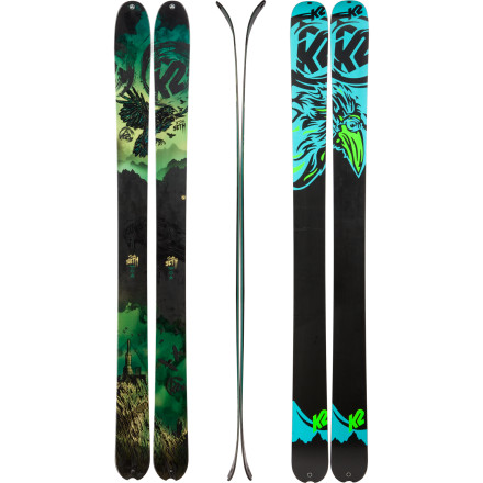 photo: K2 SideSeth alpine touring/telemark ski