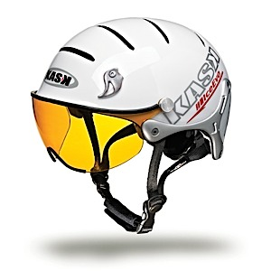 photo of a Kask climbing helmet