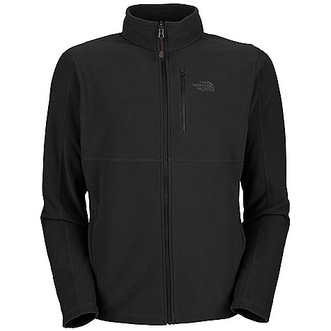 photo: The North Face Men's TKA Texture 100 Full Zip fleece jacket