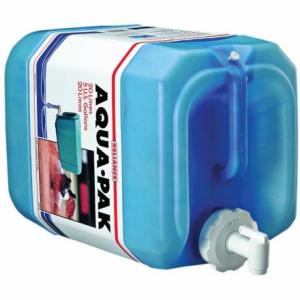 photo: Reliance Aqua-Pak water storage container