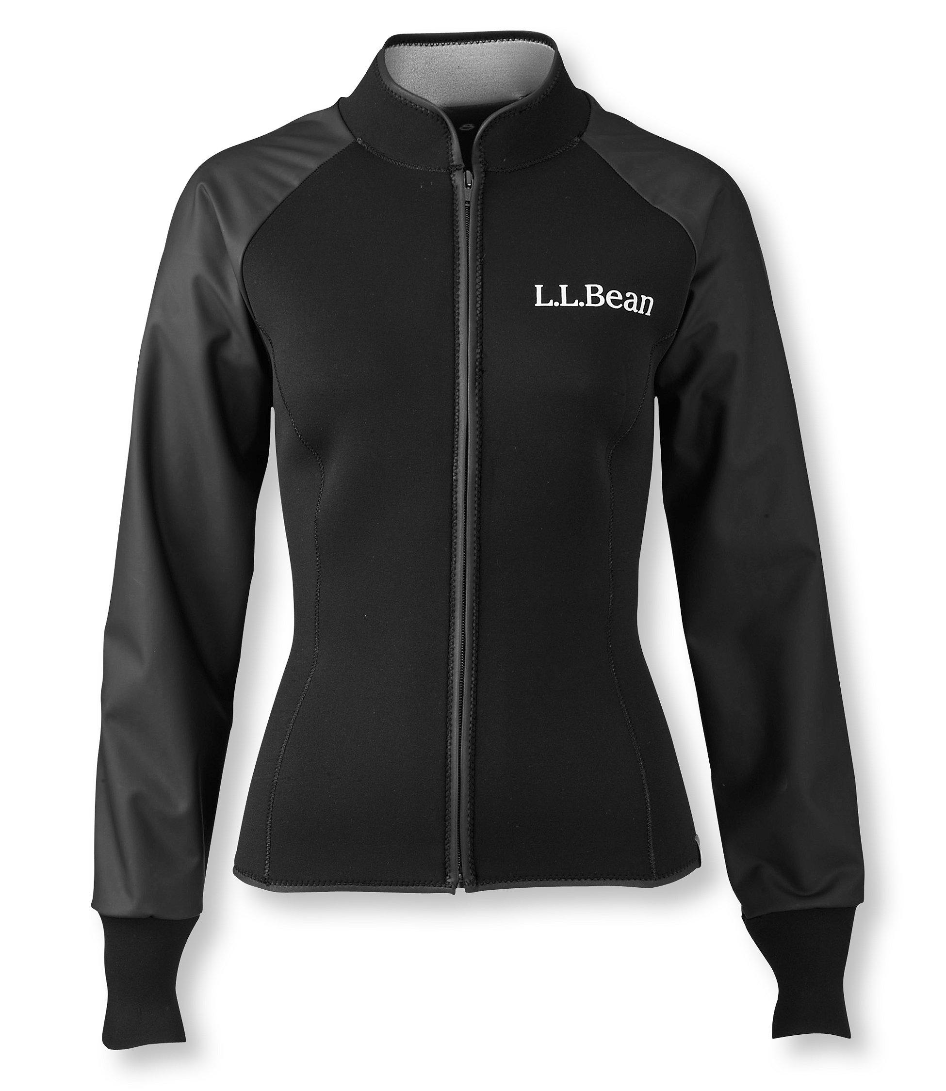 photo: L.L.Bean Women's Superstretch Titanium Paddling Jacket long sleeve paddling shirt