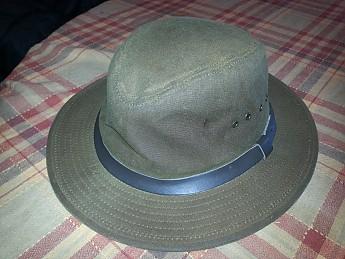 72df9119f3b ... Filson Tin Cloth Bush Hat (R). 20140203 123927.jpg