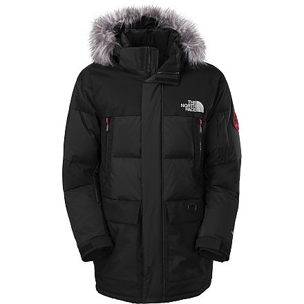 photo: The North Face Vostok Parka down insulated jacket