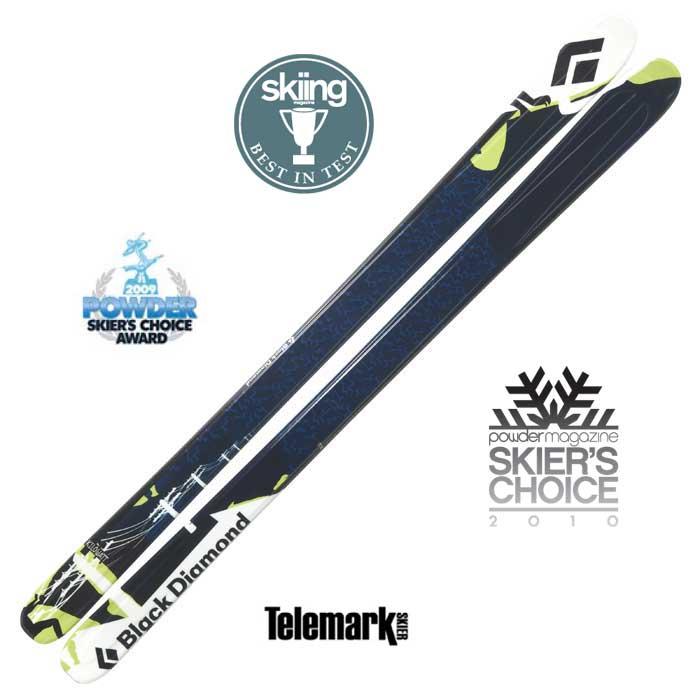 photo: Black Diamond Kilowatt alpine touring/telemark ski